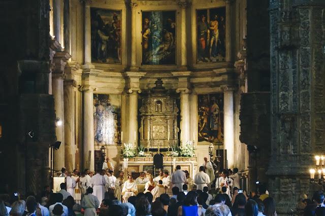 サンタ・マリア教会(Igreja Santa Maria de Belém)|中央礼拝堂