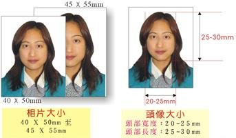 歪林網誌: 怎樣用 Photoshop 弄合回鄉証 / 特區護照 規格的照片?