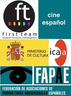 cine español ICAA Fapae Fundación first team