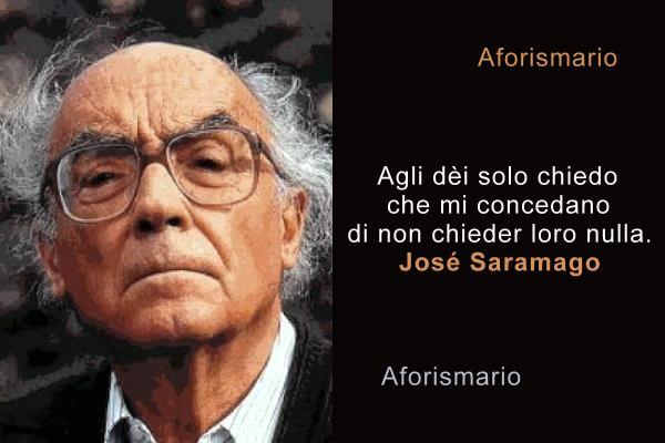 Aforismario: Aforismi, frasi e citazioni di José Saramago