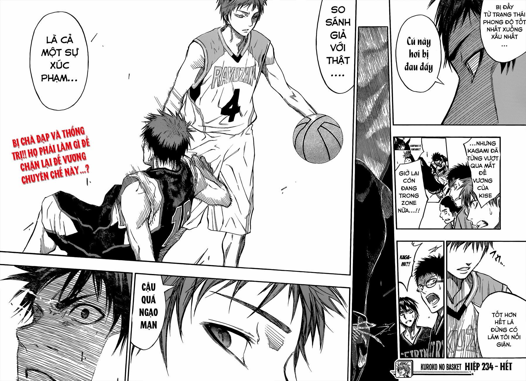 Kuroko No Basket chap 234 trang 21