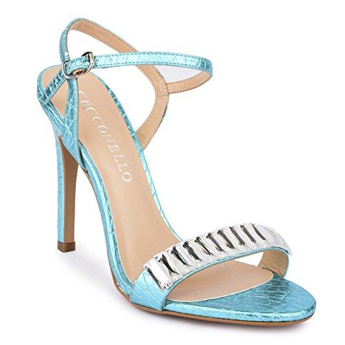 Nove čevlje čevljev na visoki peti Cecconello v Indiji-6421