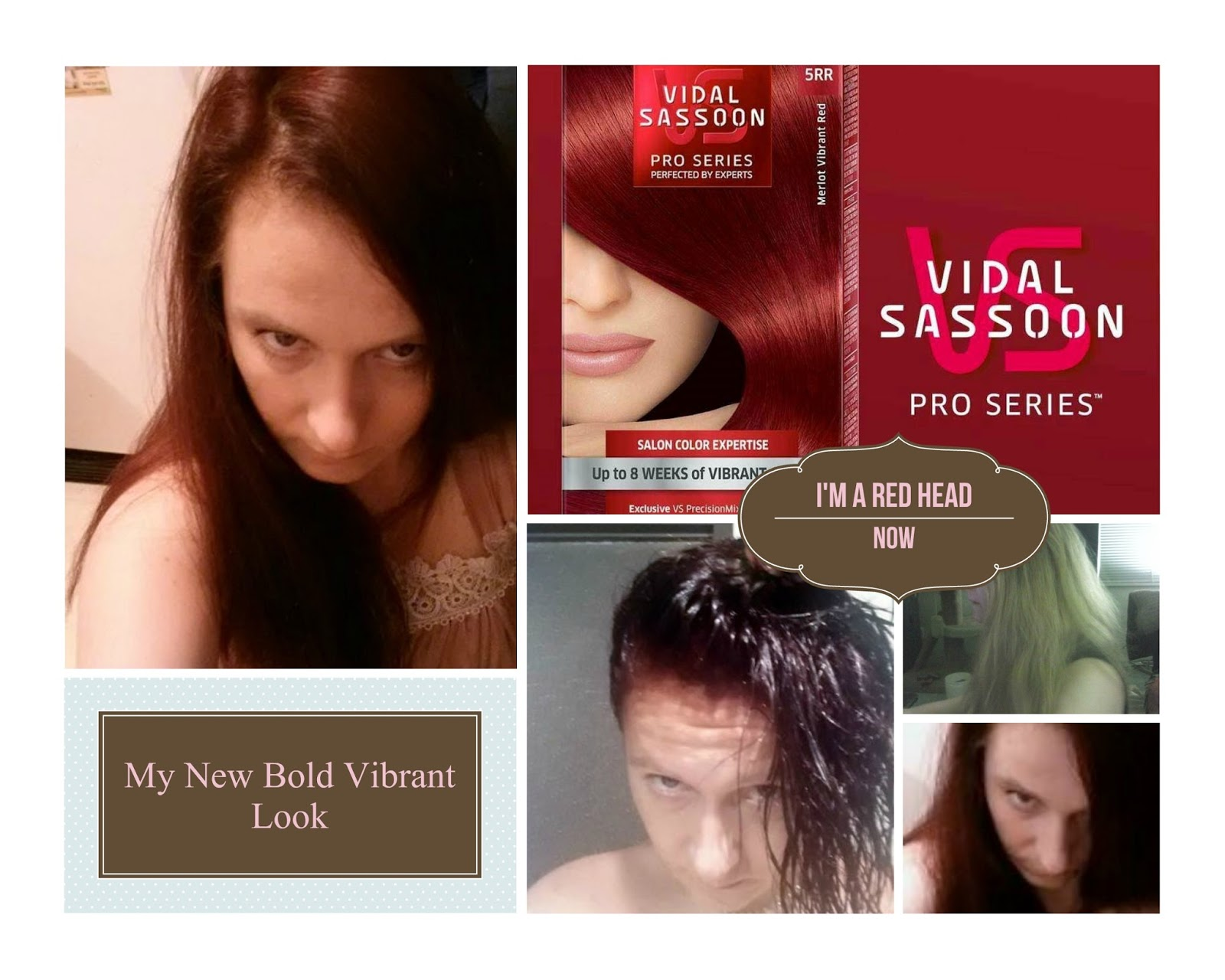 Awesome Reviews Free Stuff 4 Canadians Rocking The Red Head With Vidal Hairstyle Inspiration Daily Dogsangcom