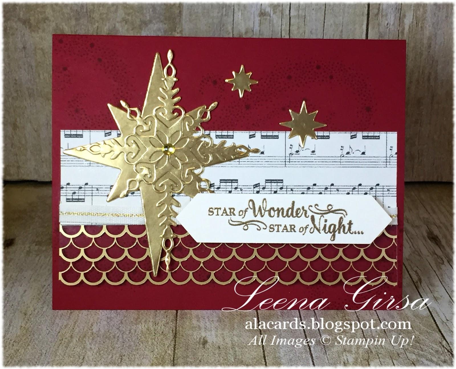 I began with a Cherry Cobber card