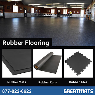 Greatmats rubber flooring mats rolls tiles
