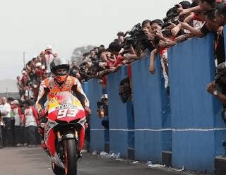 AHM menyambutnya dengan prinsip positif penyelenggaran MotoGP yang bakal di gelar. Indonesia berpeluang mengadakan kembalai balapan MotoGP pada 2017 menadatang