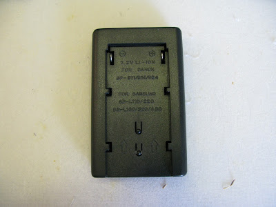 High Capacity Camcorder Battery Base Plate