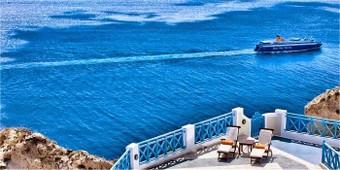 Come raggiungere l'isola di Santorini
