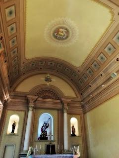 Murais de Emílio Sessa na Capela Senhor dos Passos, Porto Alegre
