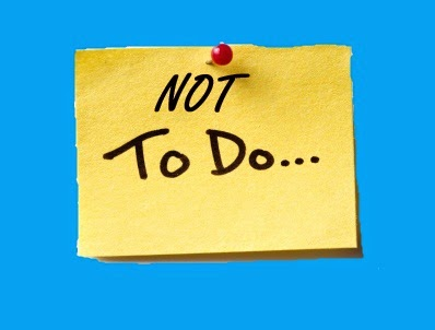 Information Online: What are the things or Da work you should not ...