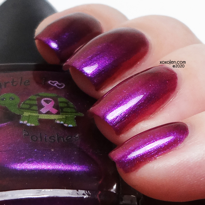 xoxoJen's swatch of Turtle Tootsie Beating The Odds