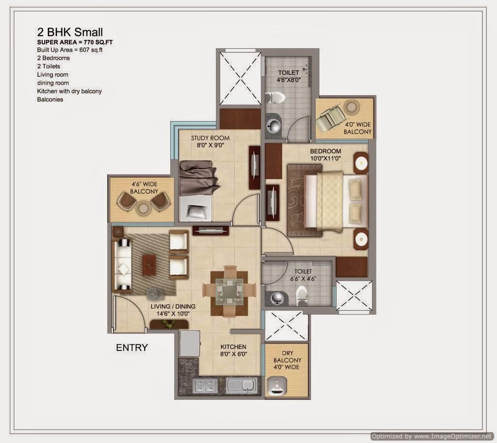 770-sq.ft.-2-bhk-floor-plan-prateek-grand-city