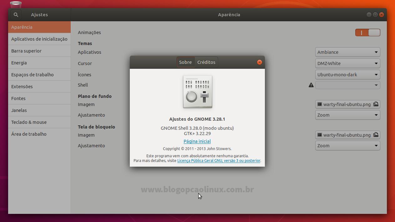 Guia de pós-instalação do Ubuntu 18 04 LTS