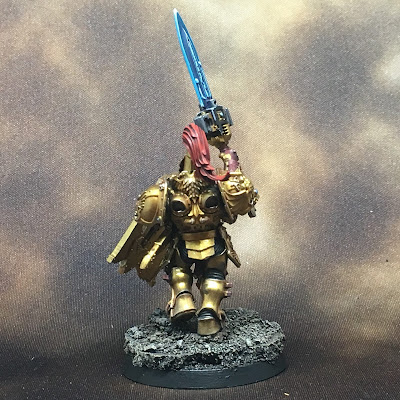 WIP Adeptus Custodes or Custodian Guard squad member 1 gallery shot back