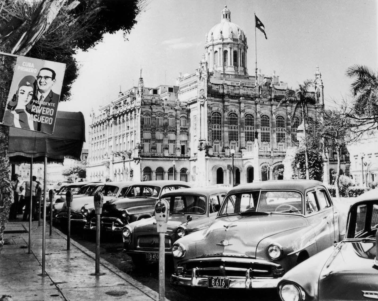 President Batista's palace in Havana. 1958.