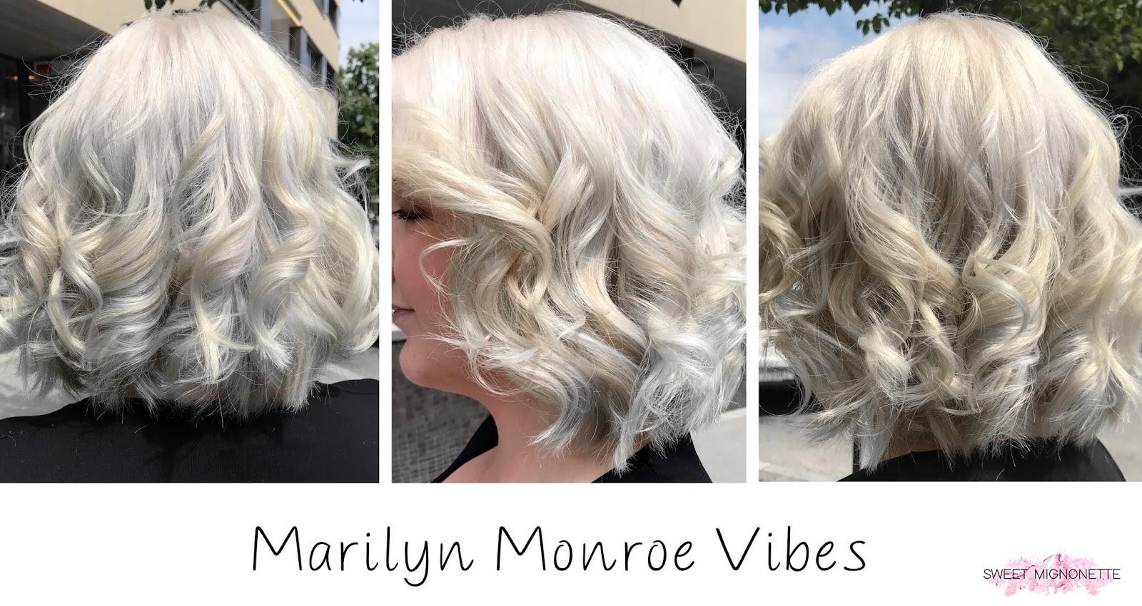 Mon Changement Capillaire White Blonde Blog Suisse Sweet
