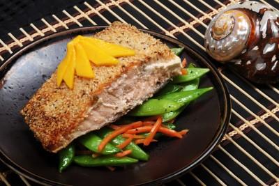 Sund og nem mad - Laks med spinat – Sund Slankekur - Nem Slankekur
