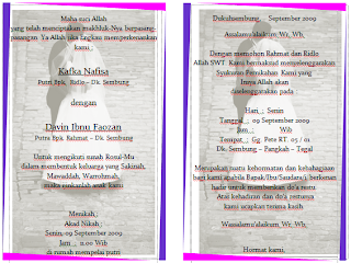Download Template Motif Undangan Pernikahan Format Word Gampang Diedit Gratis