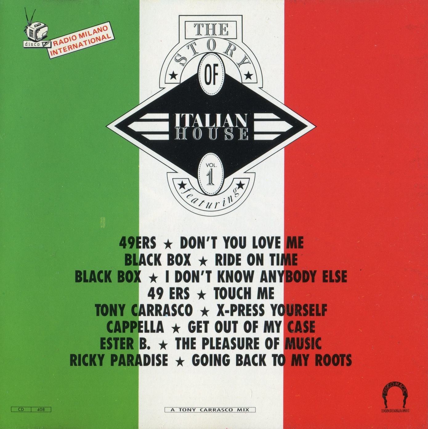 Radio jpg 68 the story of italian house vol 1 1990 for Classic house volume 1