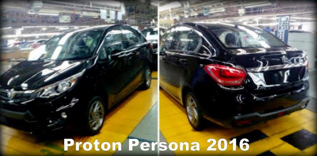 Proton Persona Baru 2016