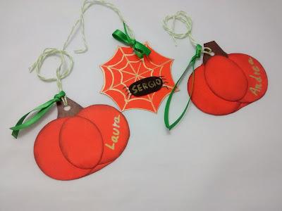 etiquetas personalizadas calabazas