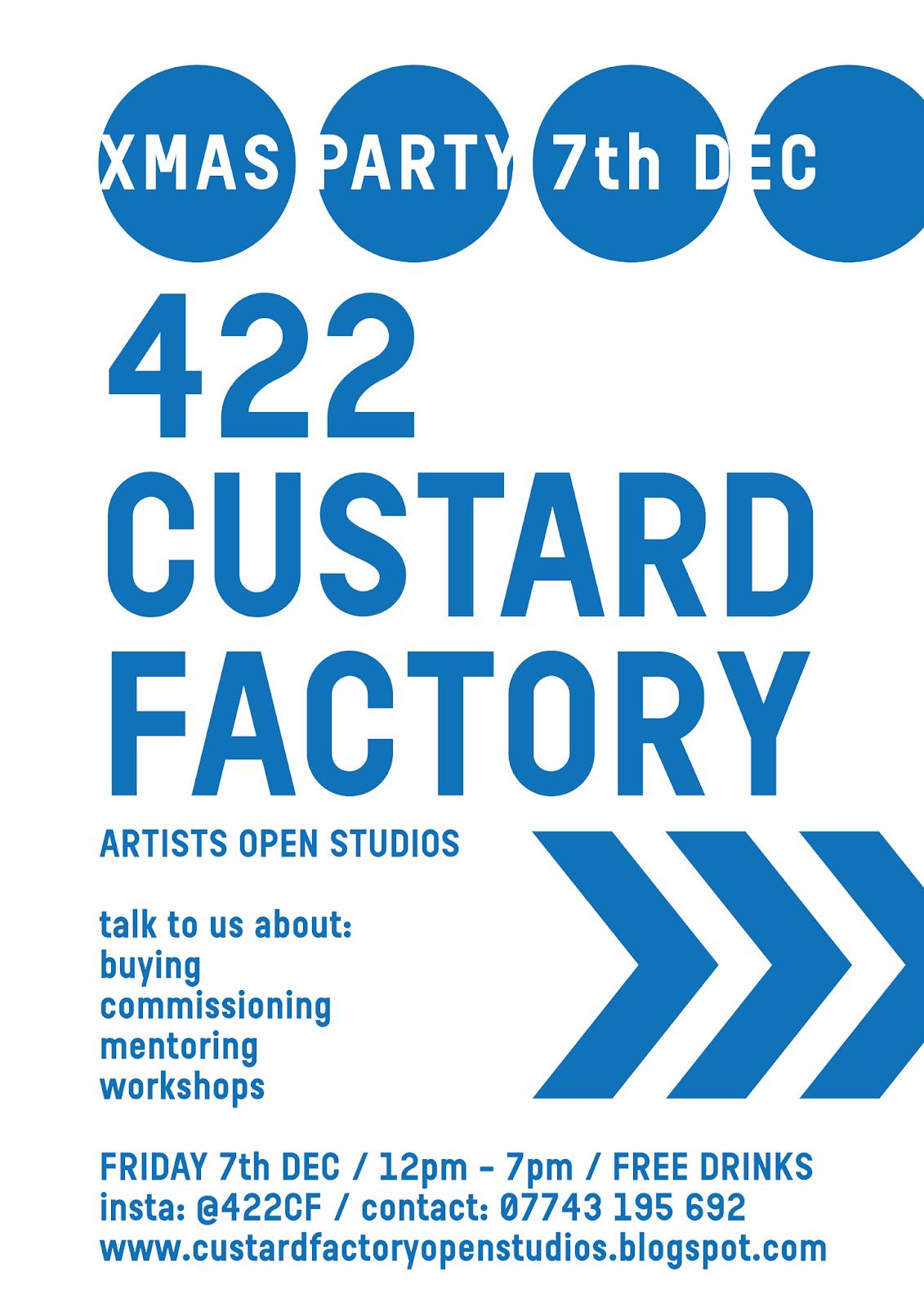 Custard Factory Open Studios: 2018