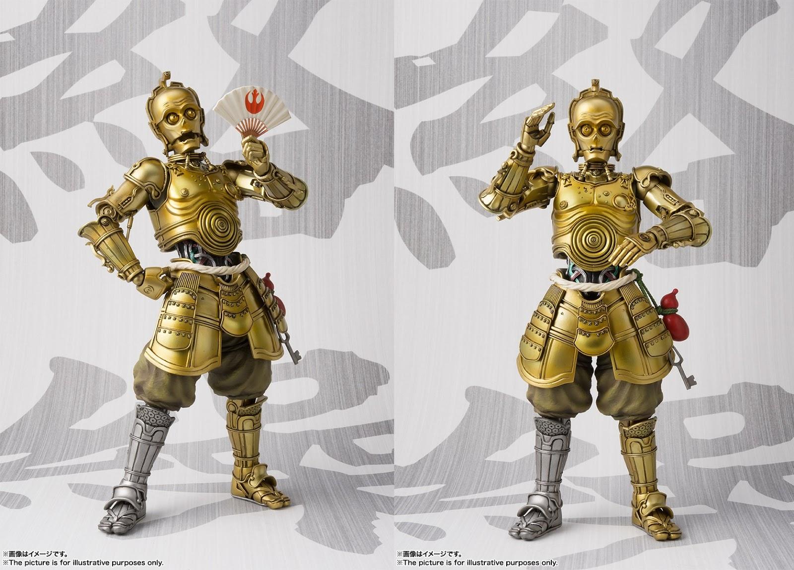 STAR WARS Japan BANDAI Meisho Movie Realization HONYAKU KARAKURI C-3PO