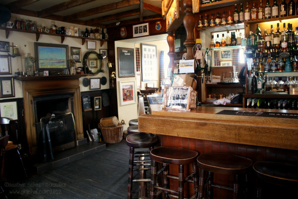 The Bar - The Port Charlotte Hotel and Bar, Islay, Scotland