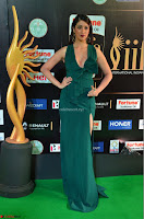 Laxmi Rai in a Deep neck Beautiful Green Gown Cute Actress Laxmi Rai ~  005.JPG