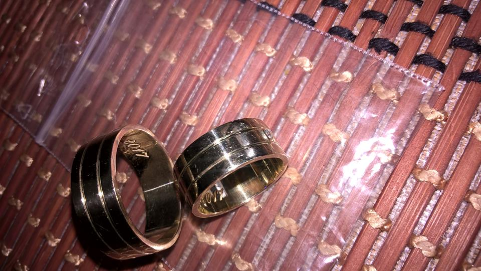 Bijuteria As Bijoux Constanta Verighete Din Aur 14 Kt Lucrate