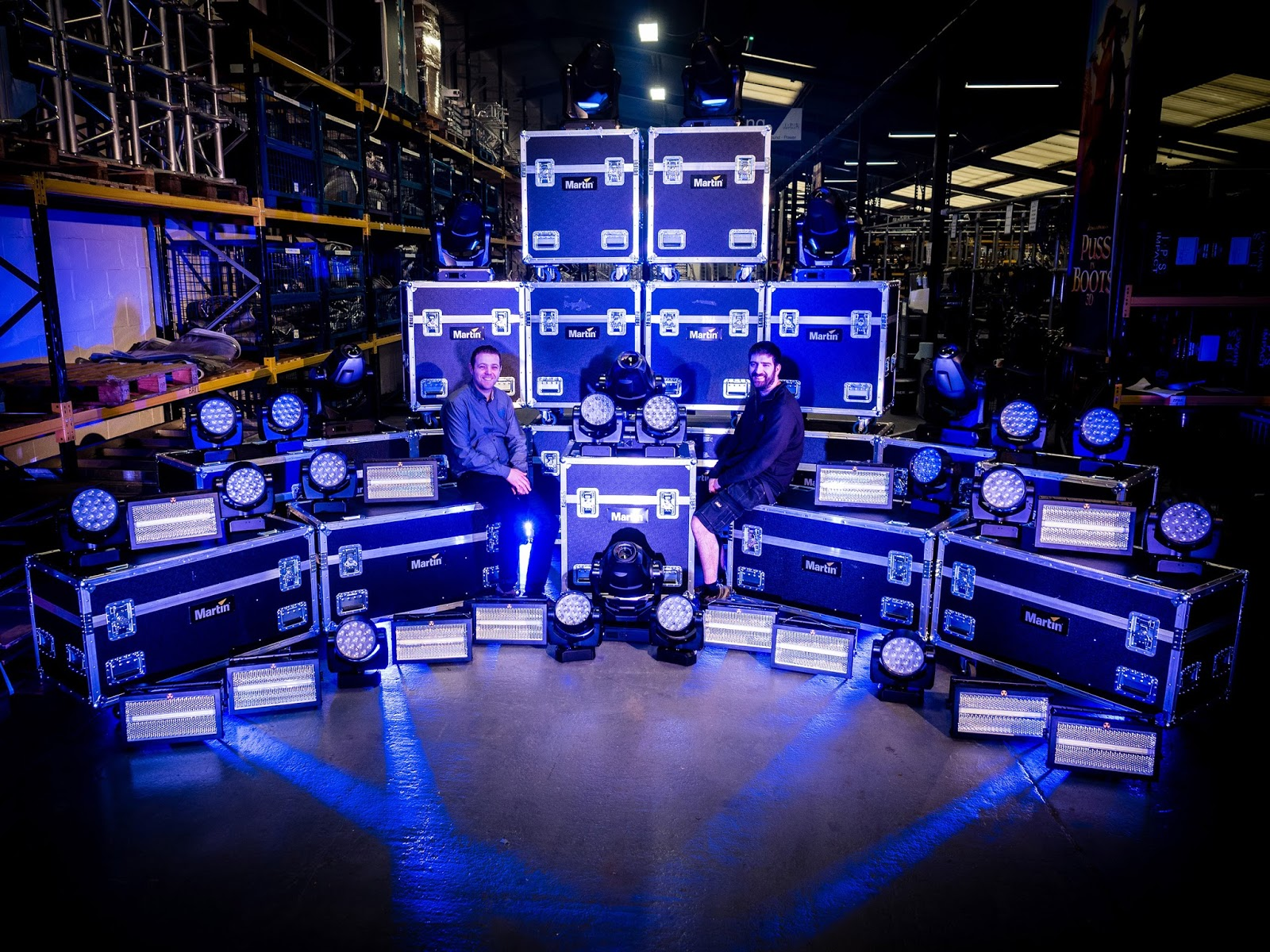 Impact production services goes extra bright with martin by harman milton keynes ukimpact production services ips has added more than 100 lighting fixtures from martin by harman to its rental stock arubaitofo Images