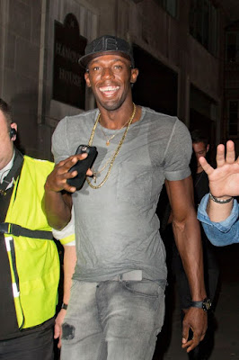 , Usain Bolt 'simulated sex' on the dancefloor as he partied in London, Latest Nigeria News, Daily Devotionals & Celebrity Gossips - Chidispalace