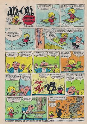 Ali Oli, Tio Vivo 2ª nº 411 (20 enero 1969)