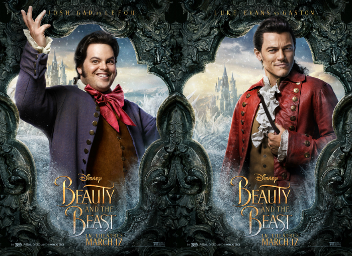 "Josh Gad and Luke Evans in ""Beauty and the Beast"""