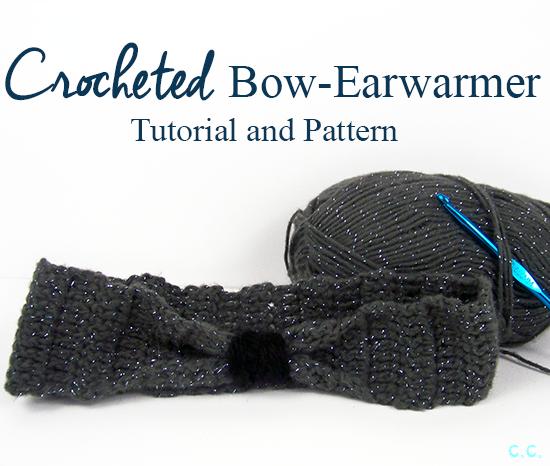 Tutorial Tuesday: Bow Ear-Warmer