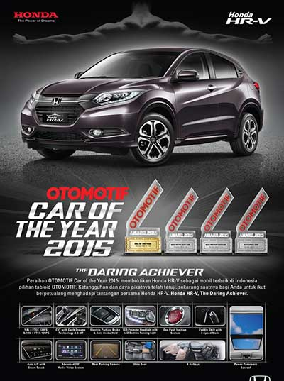 Promo Honda HRV Bandung 2016
