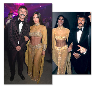 Kim Kardashian As Cher Jonathan Cheban As Sonny