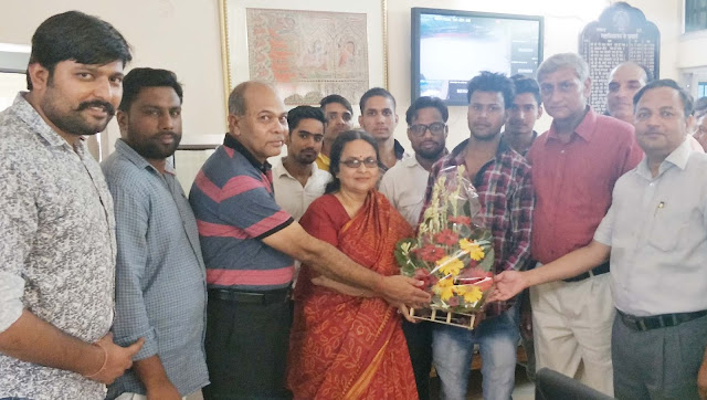 Nehru-college-principal-preeta-kaushik-faridabad