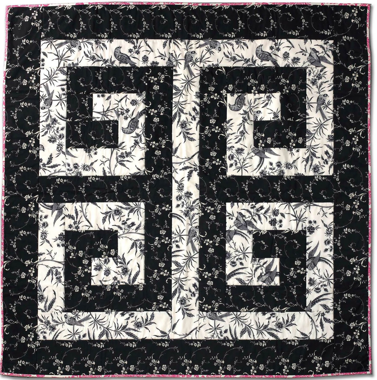 Free pattern day! Black and White quilts | Quilt Inspiration ...
