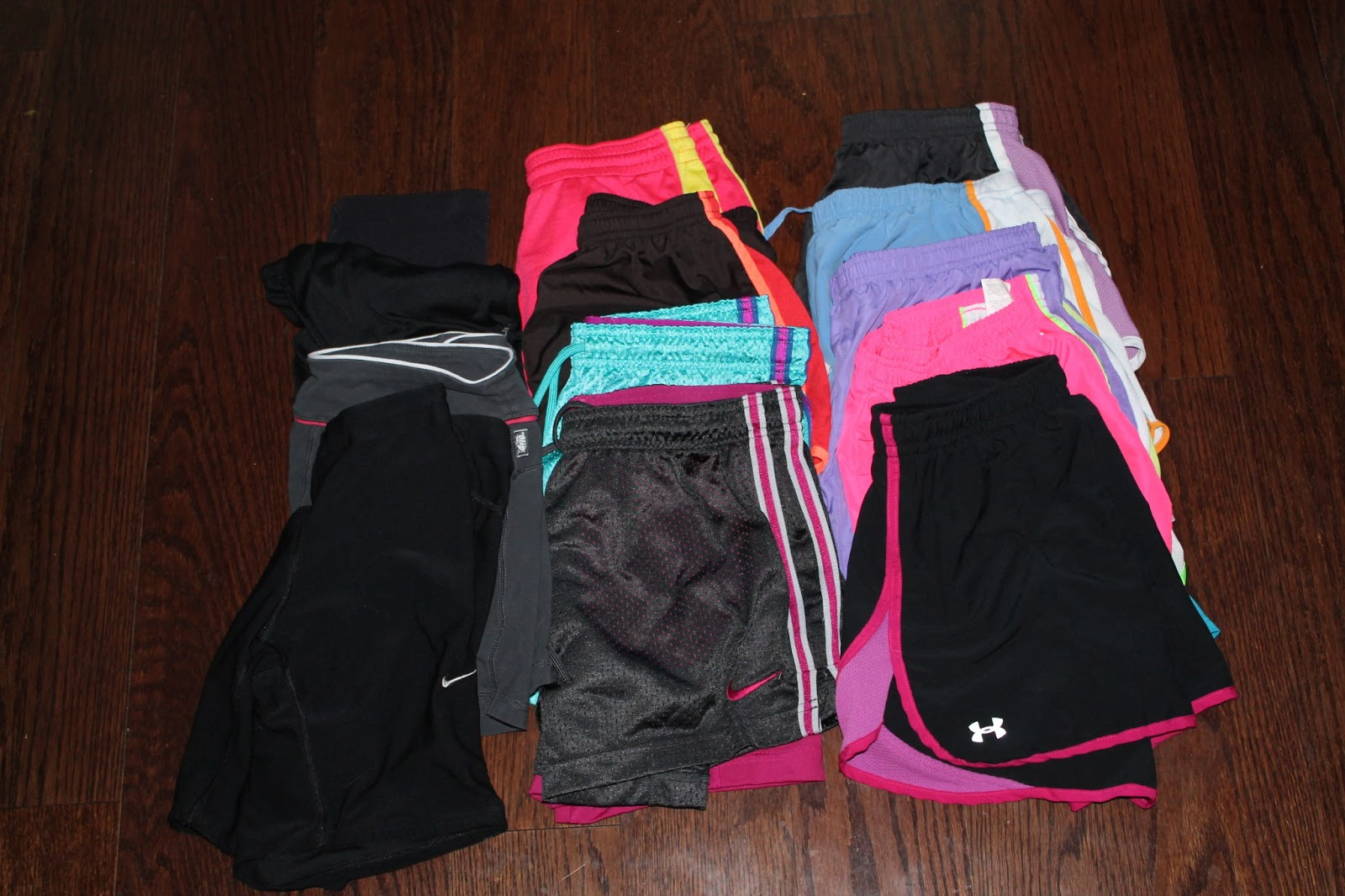 What's in your fitness closet?   I Run For Wine