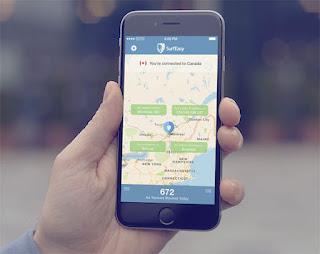 Aplikasi VPN SurfEasy