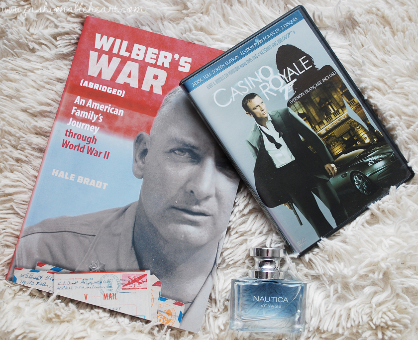bbloggers, bbloggersca, canadian beauty bloggers, holiday gift guide, christmas, for guys, wilber's war, nautica voyage, james bond, ideas, affordable gifts, boyfriends, husbands, fathers, friends