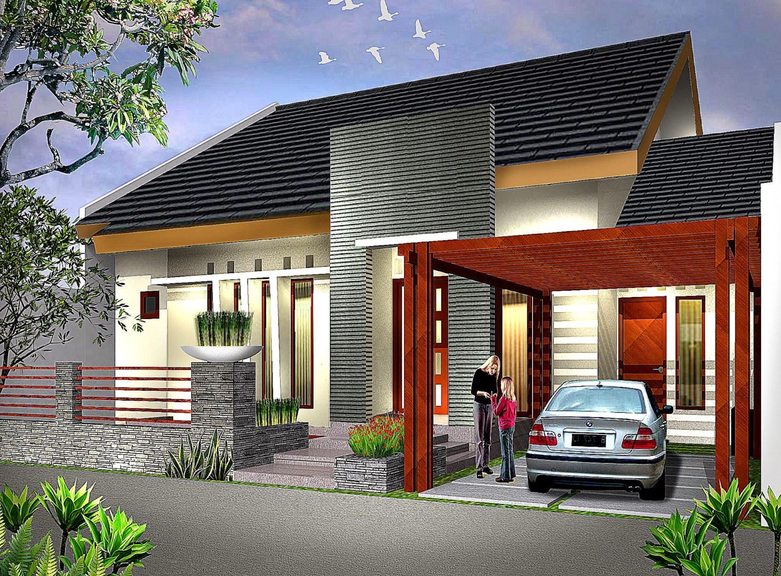 Disain Rumah  Minimalis  Modern Design Rumah  Minimalis