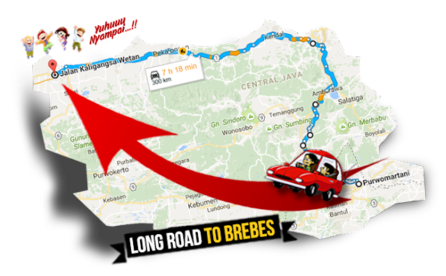 map brebes