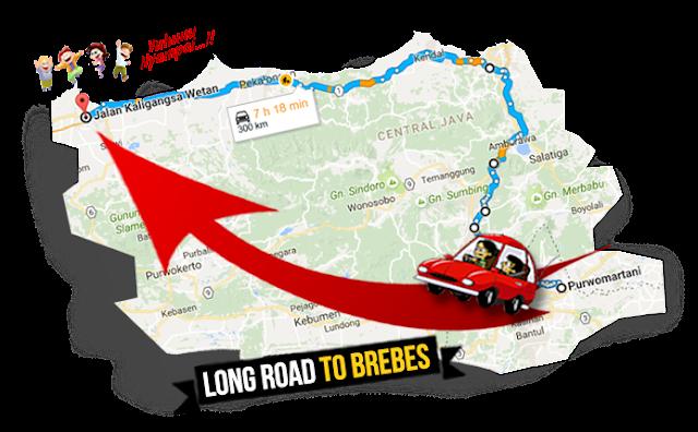 Jalur Jogja-Brebes