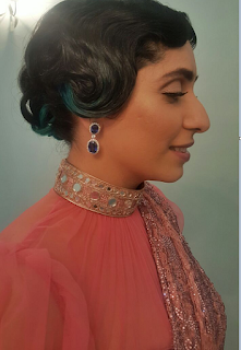 Neha Bhasin in VelvetCase.com Earrings