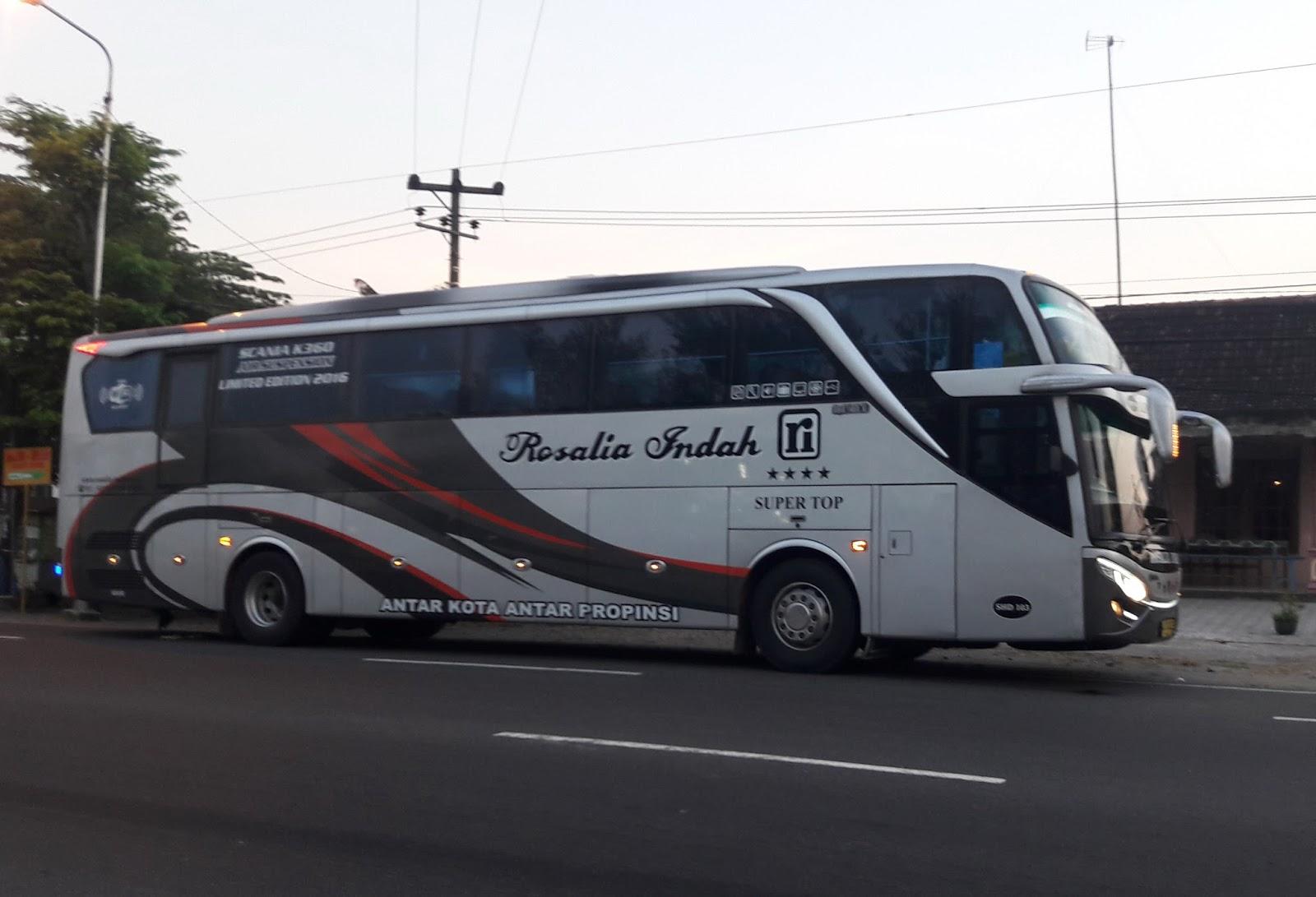Catatan Perjalanan Rosalia Indah Super Top Shd Bitung Madiun