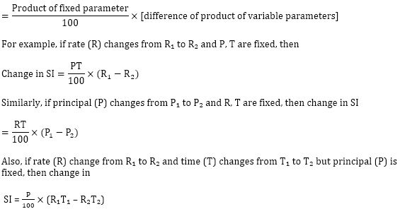 Simple Interest Formula, Concept and Study Notes_110.1