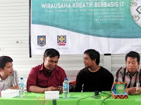 Workshop Technopreneurship Digelar Ponpes Sirojul Hanan Kudus