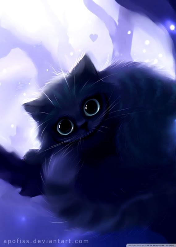 Cute Cat Wallpaper Anime